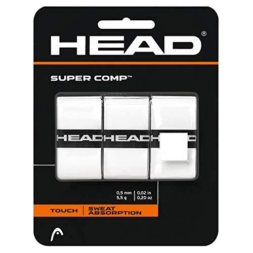 HEAD Unisex- Erwachsene Supercomp Griffband, White, Einheitsgröße