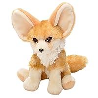 Wild Republic 19379 Fennec Fox Plush, Cuddlekins Cuddly Soft Toys, Kids Gifts, 20 cm, Multi