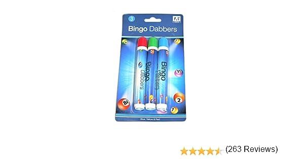 Anker International bingo Stationary Pen confezione da 3