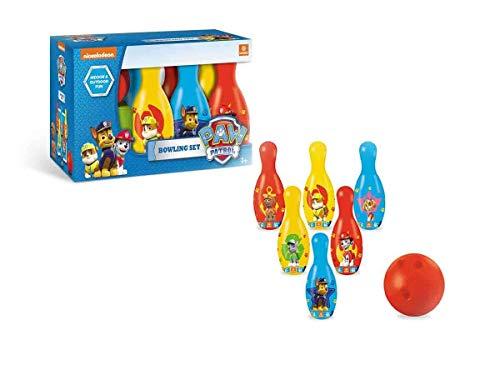 Mondo 28207 - Paw Patrol Set Palla Bowling e Birilli