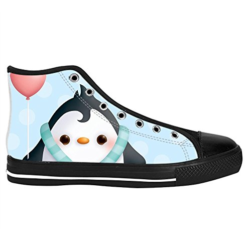 Dalliy pinguin Kids Canvas shoes Schuhe Lace-up High-top Footwear Sneakers C