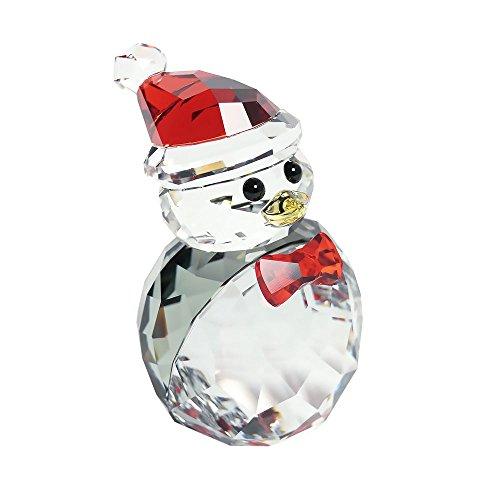 Swarovski Schaukelnder Pinguin Figur, Kristall, Mehrfarbig, 4.1 x 2.5 x 2.7 cm