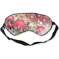Schlafmaske, Weihnachtsbaumkugel, rote Augen – bequeme Schlafmaske für Reisen, Nacht, Mittagsschlaf Mediation,... preisvergleich bei billige-tabletten.eu