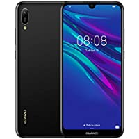 Huawei Y6 2019 32 GB 6.09 inch FullView Dewdrop Display Smartphone with 13 MP  Camera, Android 9.0 Sim-Free Mobile Phone, UK Version, Midnight Black