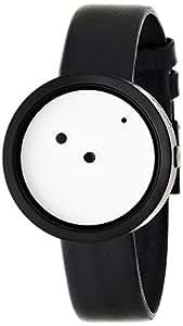 Nava - O410BI - Montre Homme - Quartz Analogique - Bracelet Cuir de veau Noir