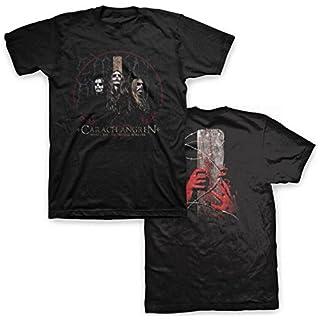 Carach Angren - Mens Corpses Sink Forever T-Shirt, Medium, Black
