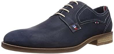 Daniel Hechter  HD15035, Derbies à lacets homme - Bleu - Bleu marine (423), 42 EU