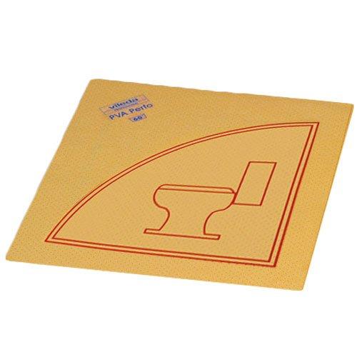 Preisvergleich Produktbild Vileda Lochtuch 'PVA Perfo' 35x40cm mit Piktogram WC VE=10 Stück