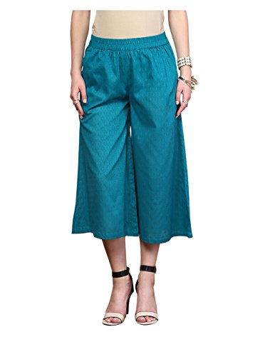 Yepme Vedra Palazzo Pants, Green XS to Large