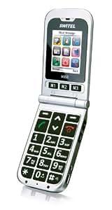 Switel m850 Téléphone portable Argent