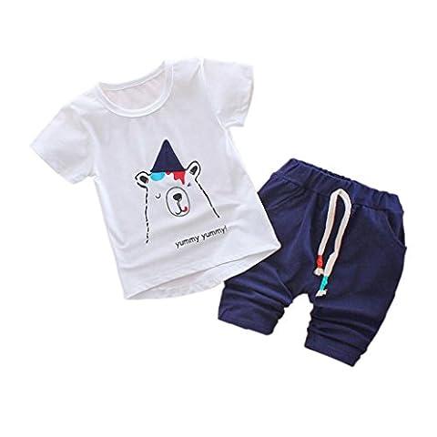 Costumes Ours Outfit - Saingace 1 jeu Bébé Garçons Filles Ours