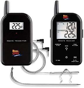Maverick ET732B Wireless Barbecue Thermometer, schwarz