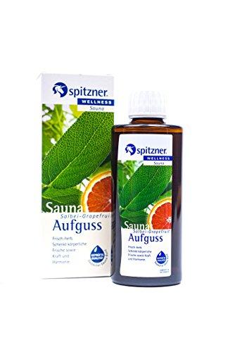 Spitzner Saunaaufguss Wellness Salbei-Grapefruit (190ml) Konzentrat -