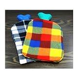 Bolsa de agua caliente Wellness cama de botella de la Almohada de Calor con funda de niños de tejido de botella del Sajonia Envío