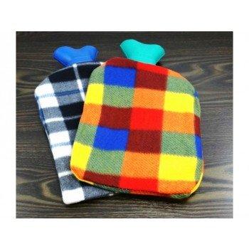 Wärmflasche Wellness Bett-Flasche Wärmekissen- mit-Bezug Kinder-Wärm-Flasche vom Sachsen Versand