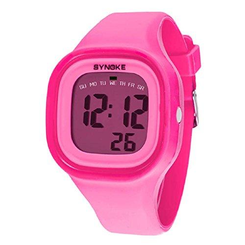 Malloom® 2015 moda natación reloj deportivo silicona digital LED imp