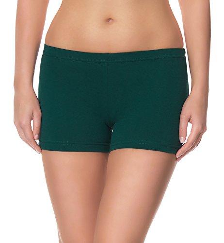 Ladeheid Damen Shorts LAMA05 (Dunkelgrün2, XS/S (Herstellergröße: 34/36))