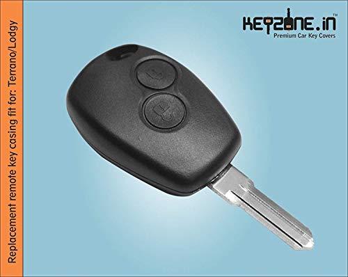Keyzone® Nissan Terrano 2 Button Remote Key Shell (1)