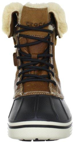 Crocs Allcast Duck Luxe Boot Men, Boots homme Marron (Toffee/Stucco)
