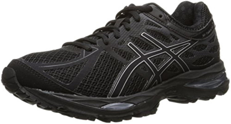 Zapato para correr femenino Gel-cumulus 17, negro / plateado / Onyx, 6 M US