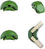 PlayWood, Kit da Costruzione con 20 Connettori Angolari, Morsetti in Plastica con Vite in Acciaio Inox, Ideale