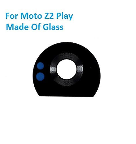 MrSpares Rear Back Camera Glass Lens With Adhesive Sticker For Motorola Moto Z2 Play