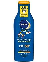 Nivea Sun Kids-Sonnenmilch LF50, 1er Pack (1 x 200 ml)