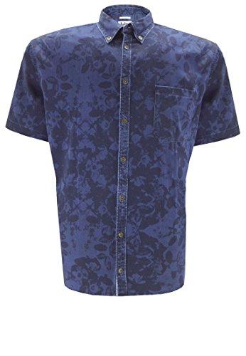 Replika -  Camicia Casual  - Uomo blu XXXXX-Large