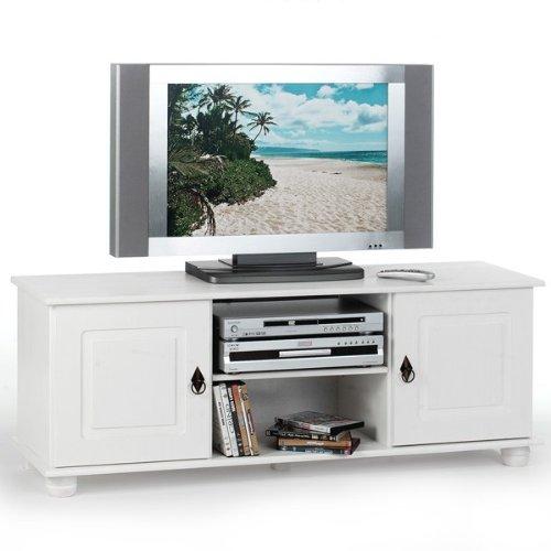 IDIMEX Lowboard TV Möbel BELFORT, weiß