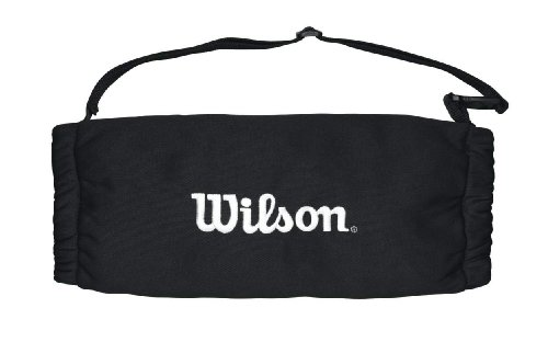 Wilson, football americano, scaldamani, per adulti, nero, pile, lavabile in lavatrice, wtf9859