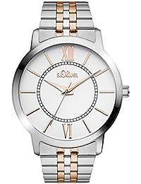 s.Oliver Time Damen-Armbanduhr SO-3351-MQ