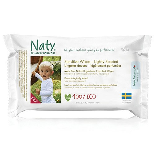 Sensitive Wet Wipes - lightly scented