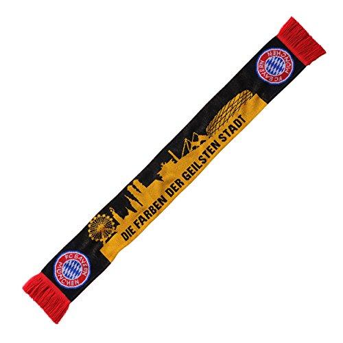 Schal bester Verein - geilste Stadt FC Bayern MÜNCHEN + gratis Sticker München forever, scarf / rassis / viciado FCB,