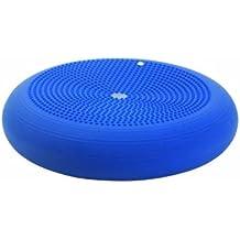 Togu Dyn-Air Level III - Cojín para fitness (XXL, 50 cm, incluye DVD en alemán), color azul