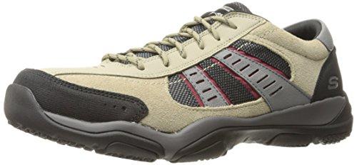 Skechers Larson-Alton, Chaussures de Running Homme Beige (Taupe)