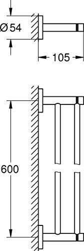 Grohe-Handtuchhalter-1-Stck-40371001