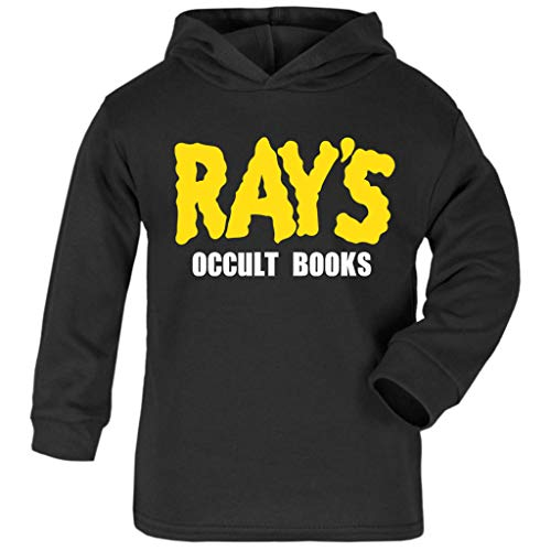 Cloud City 7 Rays Occult Books Ghostbusters Baby and Kids Hooded Sweatshirt