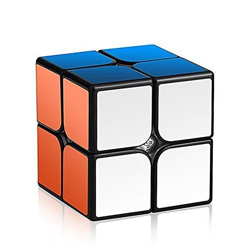 Speed Cube: Roxenda Profession 2x2 Speed Cube Puzzle Juguetes de entrenamiento para principiantes - Fácil resolución y suavidad de juego - Pegatina superdurable con colores vivos - Gira más rápido y con más precisión que el original