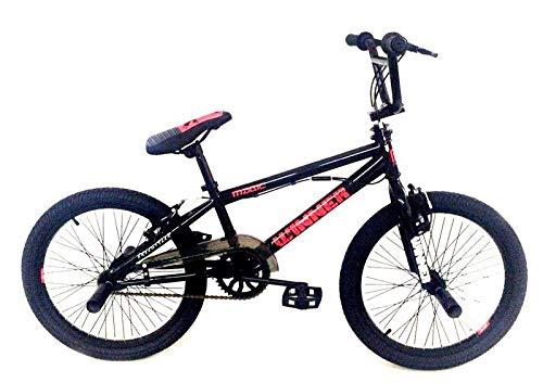 Frank Bikes 20 Zoll BMX Fahrrad Rad KINDERFAHRRAD 360° Rotor Freestyle Bike Jumper SCHWARZ
