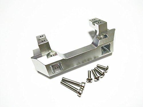 for 1/10 Crawler Car TRX/4 82056-4 Upgrade Part Aluminum Front Bumper Mount / Servo Mount Silver | De Nouveau Modèle