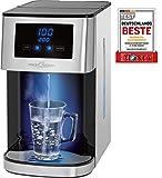 Profi Cook PC-HWS 1145 Heißwasserspender, Edelstahlgehäuse, heißes Wasser auf Knopfdruck in circa 3 Sekunden, LED-Display mit Sensor Touch-Bedienung, 2600 Watt