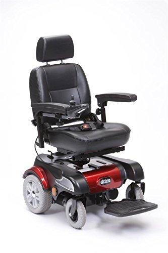Drive Medical pcmm07rd 19-inch Sunfire Plus GT powerchair - rot