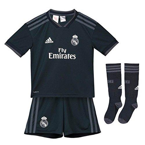 c7bc4ae8 adidas 18/19 Real Madrid Away Kit-Lfp Badge Conjunto, Unisex niños,