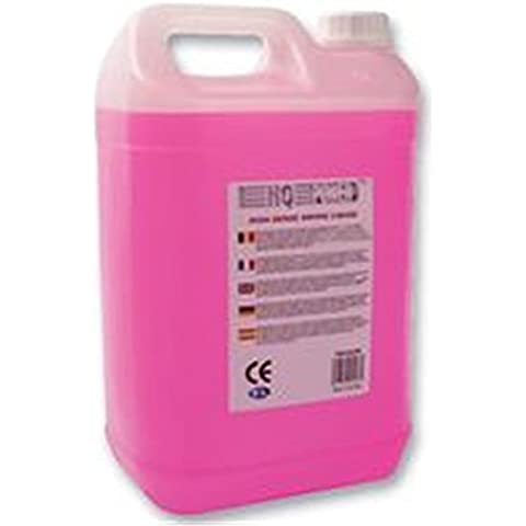 HQ Power High-density smoke liquid 5L - Máquina de humo (Rosa, Color blanco)