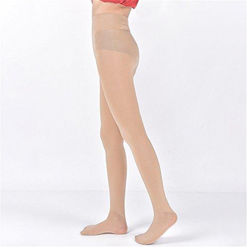 Ruirs Nice Femme Mode Printemps Automne Filles opaque à pied Collants Fille Printemps Automne Collants de collants de jambe Collants sans Oublier chaud Hip Taille unique chair