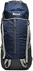 Impulse Climate Proof Mountain Rucksack/Hiking / Trekking/Camping Bag/Backpack 65 ltrs Rucksack with Rain Cover Thriller (Blue)