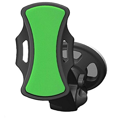 Chariot Trading Company Chariot Trading - Universal Stick Car Windshield Mount Holder Bracket GPS Smart Phone Stand Hands-Free 360 Degrees Rotating - CJ-BG-000486