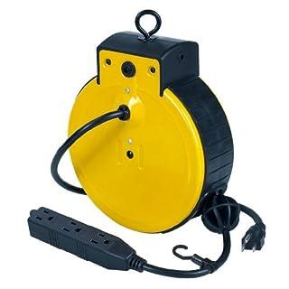 Alert Stamping 3225ATC Tri-Tap Cord Reel Consumer Portable Electronics/Gadgets