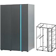 suchergebnis auf f r kleiderschrank h he 130 cm. Black Bedroom Furniture Sets. Home Design Ideas