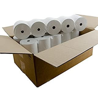 Albasca Bonrollen, Thermopapier 80/80m/12, VE 1 Karton mit 30 Rollen- 80mm Breite, 80m Lauflänge